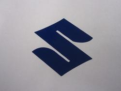 tarra Suzuki logo, sininen
