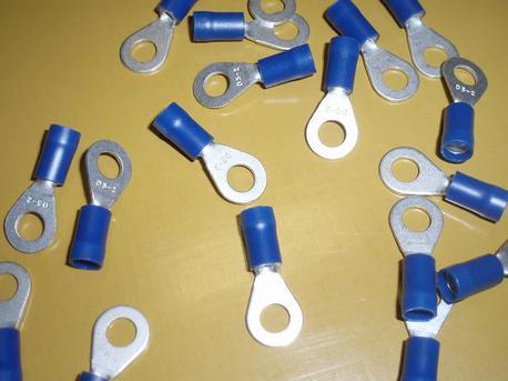 rengasliitin M5 - sininen ( 1.5 - 2.5mm² johdolle )