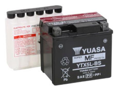 akku Yuasa YTX5L-BS