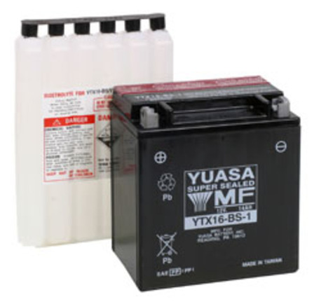akku Yuasa YTX16-BS-1