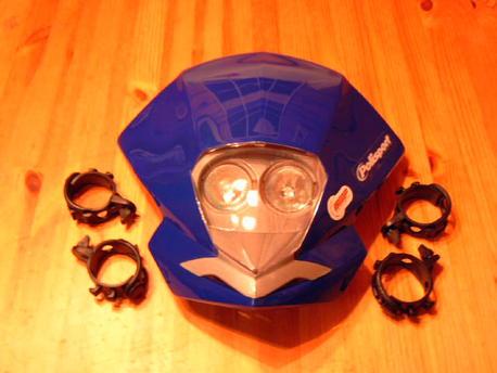 valomaski Polisport EMX, sininen