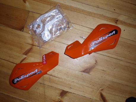 käsisuojat Polisport Freefow Lite, oranssi