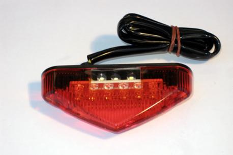 "takavalo Circuit ""mini"" LED - punainen lasi"