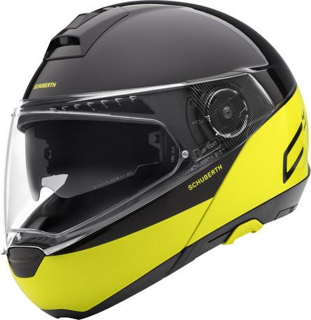 Schuberth - C4 Pro - swipe yellow
