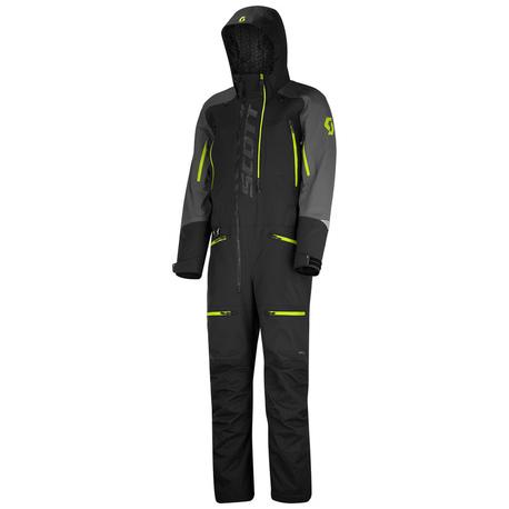 Scott - DS Shell Dryo - monosuit - black/yellow