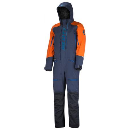 Scott - DS Shell Dryo - monosuit - blue/orange