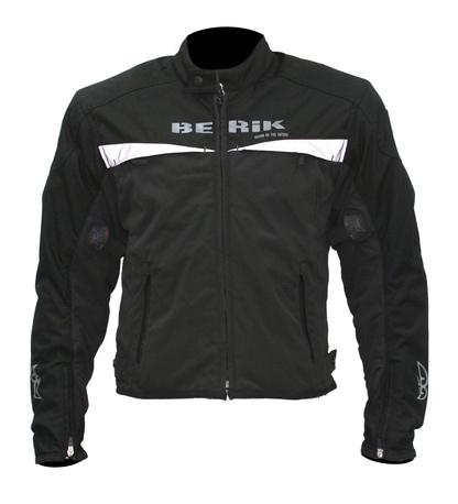 Berik 8383 - ajotakki ( musta/valkoinen ) - 48