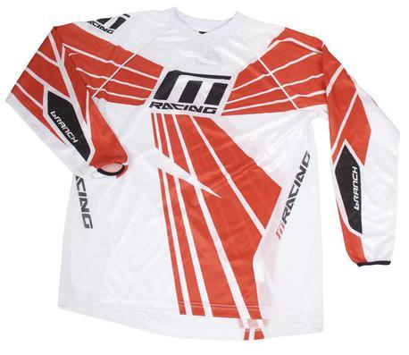M Racing - Branch 2010 ajopaita - puna/valkoinen