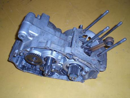 Kawasaki AR125, vaihteisto