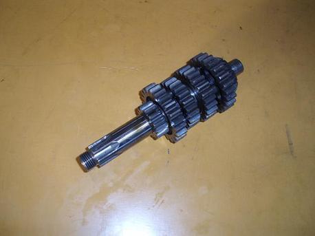 Kawasaki AR125, kytkinaksila + vaihderattaat