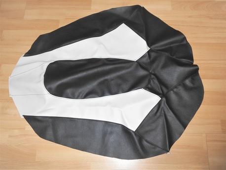 istuimen verhoilu - Yamaha Nytro ´08-13 ( musta/valkoinen )