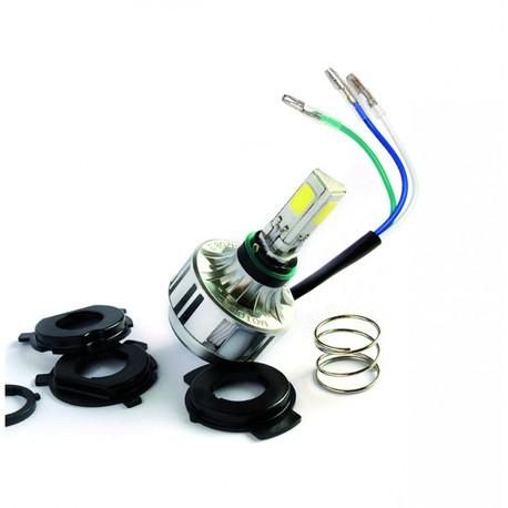 LED polttimo - Racetech ( 3000 lumenea ) Kannat : H1, H2, H3, H4, H7, KTM, Sherc