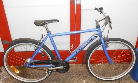 """Cresent polkupyörä 26"""" - ( 7 vaihteinen ) sininen"""