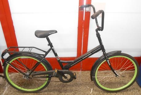 """Kombi SP polkupyörä 24"""" - ( 1 vaihteinen ) musta"""