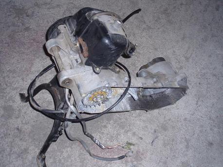 moottori aihio, Yamaha Slider