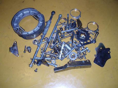 sekalaista irto-osaa, Kymco Venox 250cc