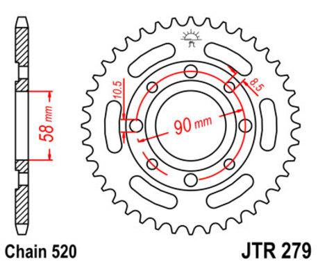 ketjuratas taka ( JTR 279 ) 31z