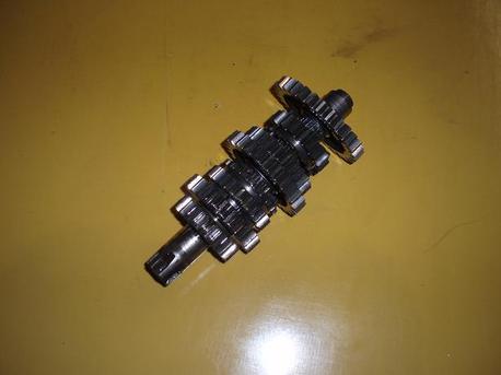 Cagiva Freccia C12 - vetoaksila + rattaat
