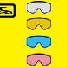"""Scott 80-sarjan tuplalinssi """"turbo-flow"""", keltainen"""