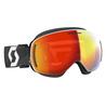 Scott - LCG EVO Snowcross - white/black - enhancer red chrome