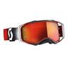 Scott - Goggle MX Prospect ( white/red orange chrome works )