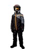 Scott - Kids Dry - monosuit - black/orange